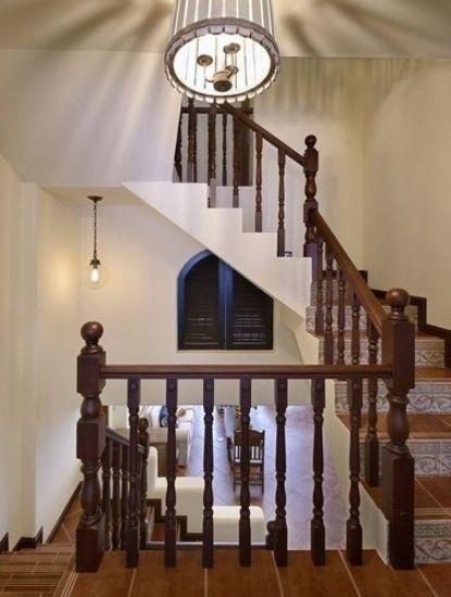 楼梯动态空间手绘