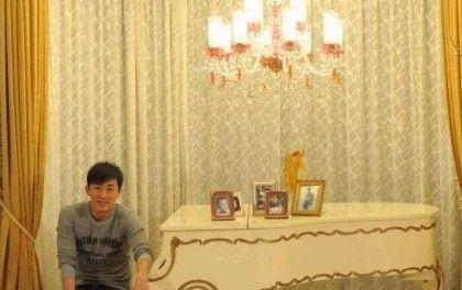 林峰豪宅内景,奢华欧式装修风格