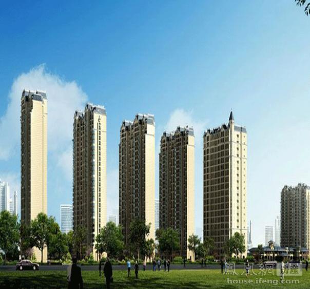 汊河新江北孔雀城别墅