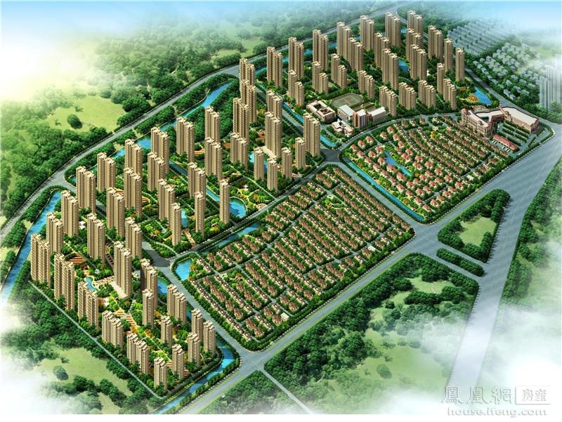 走进汊河新区地铁盘 碧桂园城市花园 房产频道 凤凰网