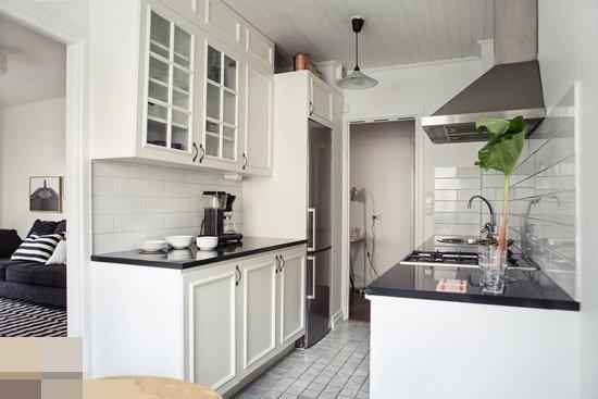 适合小户型厨房装修 迷你橱柜效果图