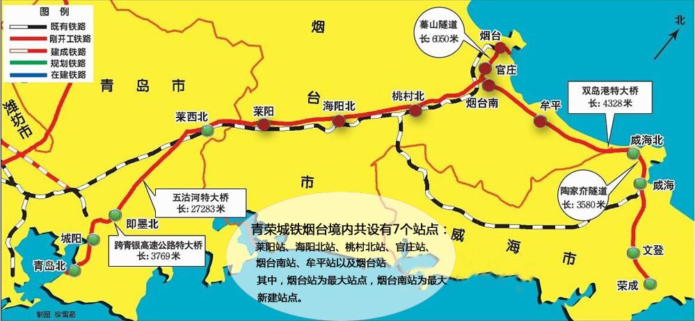 威海到北京高铁