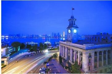 江汉关博物馆外观夜景