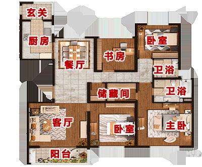 [项目动态]仁恒绿洲新岛在售6号楼房源,主力户型94平米两房,125平米三