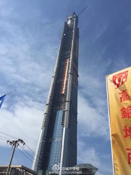 可将天津城市天际线尽收眼底;主塔楼564米处将设室内最高的游泳池,584米处还将设世界最高的旋转餐厅