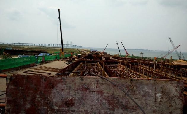 金水路高架桥主线宽25至40米