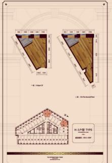 公寓标准层H3户型