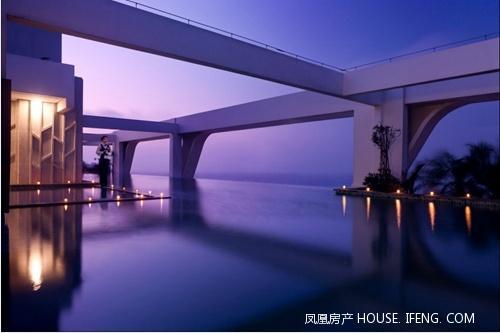 香港知名空间大师梁志天倾心设计让海居生活奢适雅致.