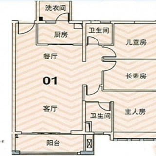 E1/E2栋01户型