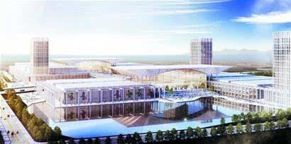 红岛国际会展中心将开建 今年完成一层施工