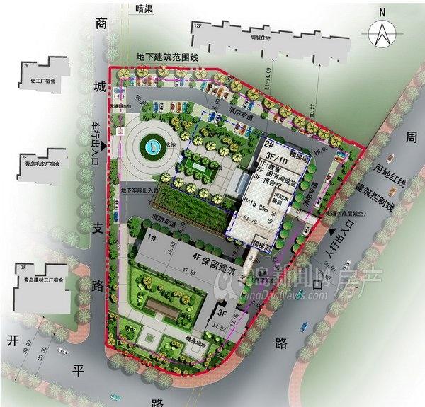 市北区教师进修学校将新建2号楼 有图书室和报