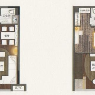 海逸寓T1栋户型图
