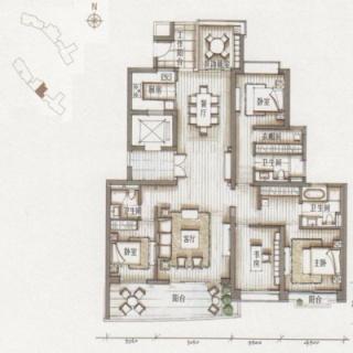 5栋01房户型图