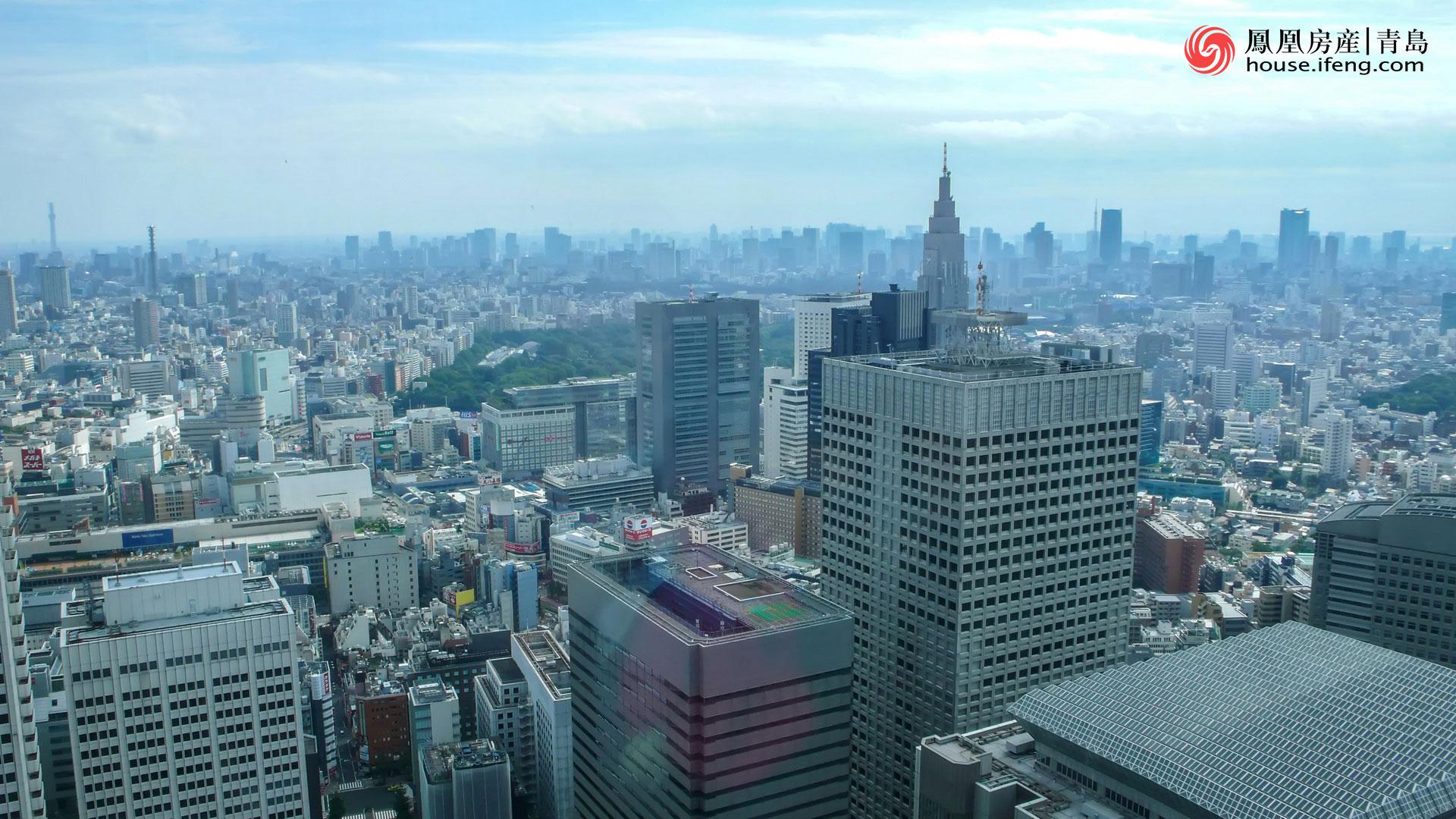 """看日本的""""高楼大厦""""寻找美丽的""""东京大晴天"""""""