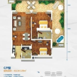 海上湾畔海尚公寓C户型
