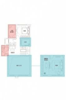 三期悦墅联排别墅149㎡户型二层