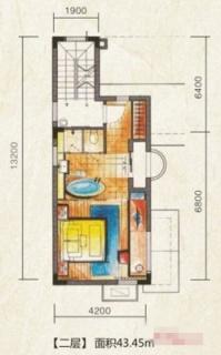W型独栋别墅户型图