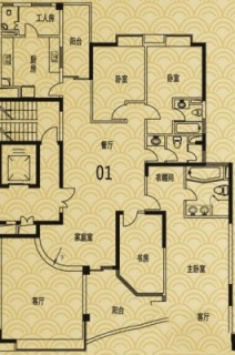 L4户型01单元(8、10、12、14、16层)