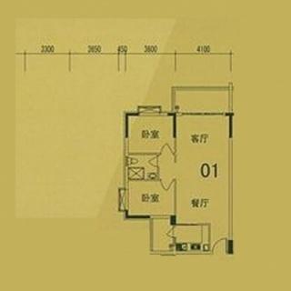 4栋(F3)01单位户型图