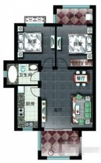 二区洋房D1户型图