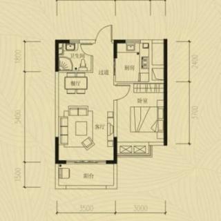 一室两厅一厨一卫20130618