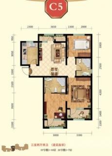 高层18、19号楼3-10层C5户型
