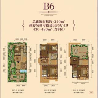 联排B6型