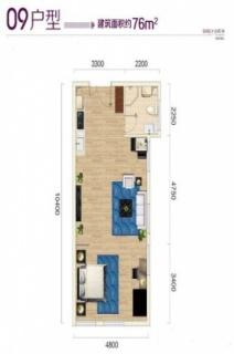 公寓09户型