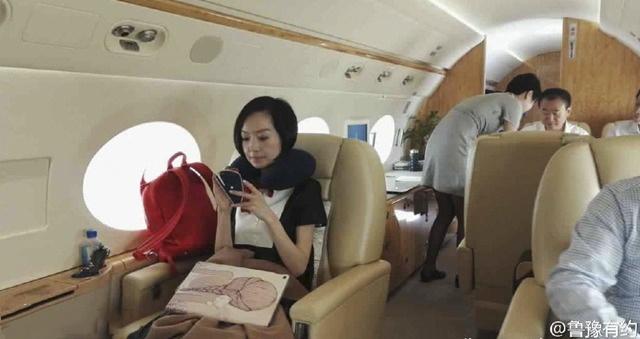 王健林私人飞机内部曝光