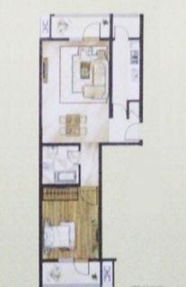 高层标准层A1户型