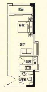 商务公寓C户型