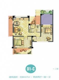 D1-C海子洋房户型图