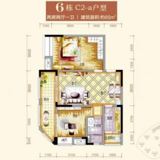 6栋C2-a户型图