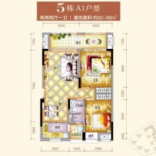 5栋A1户型图
