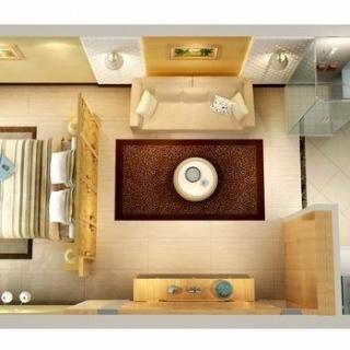 单房户型图2