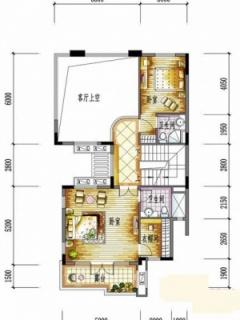 一期别墅H户型二层