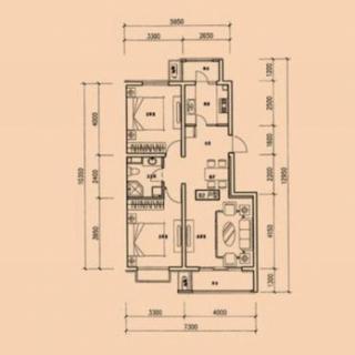 8、9号楼B2户型