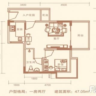 14号楼3号平面层