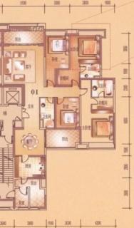 4座双江豪景大宅2-26层01户型