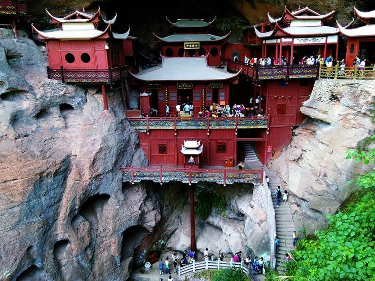 中国竟然有八大悬空寺 而你却只知其一 - 子泳 - 子泳WZ的博客