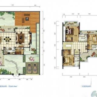 别墅户型图C4
