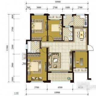 3、5号楼(1-1)(2-1)户型