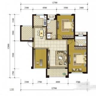 3、5号楼(1-2)(2-2)户型