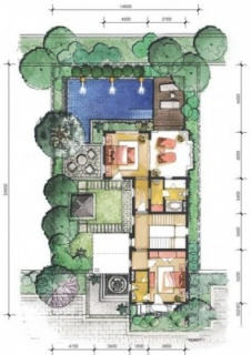 5A户型二层平面图
