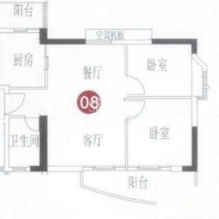 A8栋5-6层08单元户型
