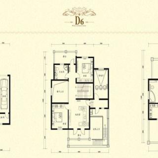 二期别墅D6户型