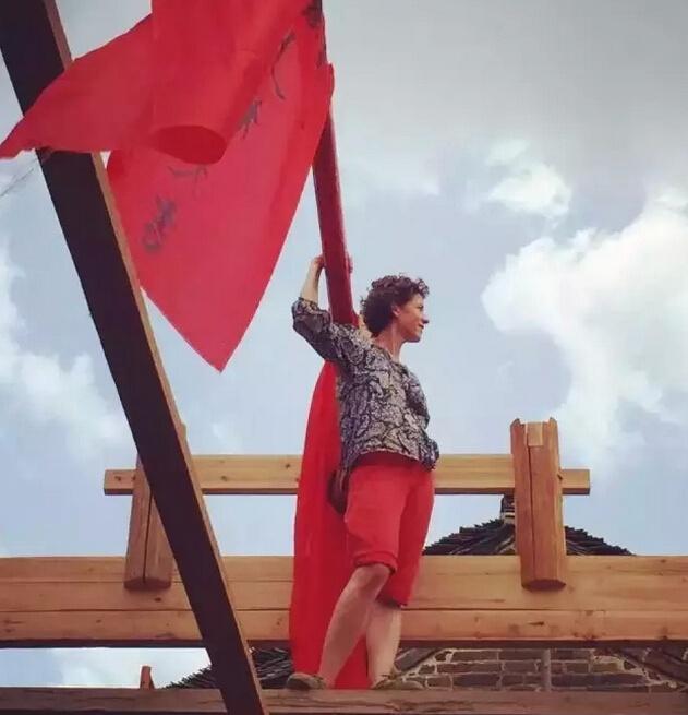 瑞士女设计师改造清末旧宅院 一方土木一片深情 - 子泳 - 子泳WZ的博客
