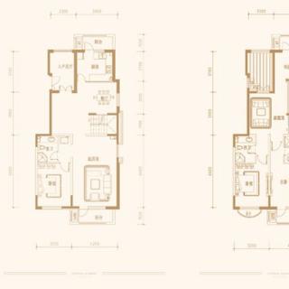 中叠-惬和墅户型