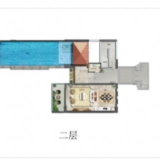 别墅D户型二层