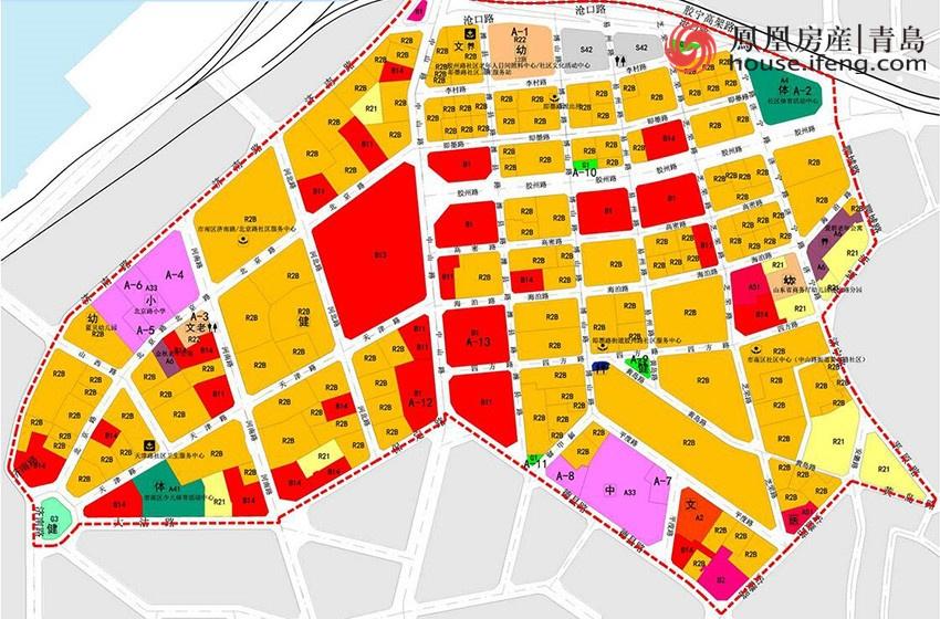 青岛市城区划分